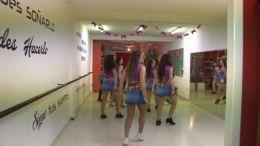 bailarinas de música brasilera