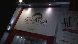 ensayo del grupo de taller del Teatro de sala  GALATEA