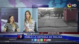 CHACO - Habla la defensa de Molina