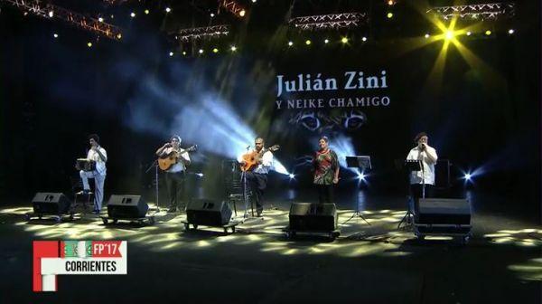 Julian Zini y Neike Chamigo 20.01.2017