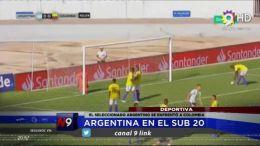 DEPORTES - Argentina en el Sub 20
