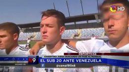 DEPORTES - El Sub 20 Ante Venezuela