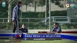 Para Messi la selección
