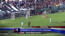Sarmiento empató en Córdoba