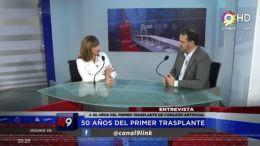 CHACO - 50 AÑOS DEL PRIMER TRASPLANTE