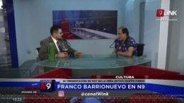 FRANCO BARRIONUEVO EN N9      SU PRESENTACIÓN DE HOY EN LA PEÑA NATIVA MARTÍN FIERRO   CULTURA   17.05