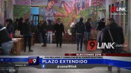 ELECCIONES 2019 | PLAZO EXTENDIDO | 22.05