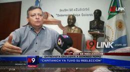 ENTREVISTA CON DECLARACIONES EXCLUSIVAS A CANAL 9   27.05