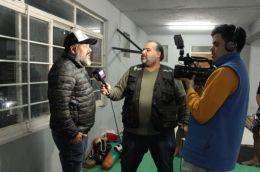 """RESISTENCIA: EL VAGABUNDO ESTUVO CON EL CAMPEON SUDAMERICANO DE LA MMA DE KICK BOXING: ARIEL LÃ""""PEZ"""