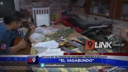 """EL VAGABUNDO EN EL FOGÃ""""N DE LOS NUÃ'EZ."""