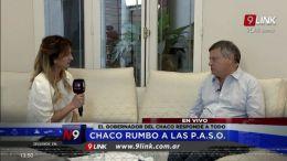 DOMINGO PEPPO EN UN MANO A MANO CON  N9   CHACO