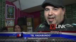 """Resistencia: """"El Vagabundo� estuvo con integrantes de la Asociación de Músicos del Chaco"""