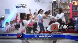 """Resistencia: """"El Vagabundo� irrumpió en el ensayo de la Academia de Baile """"Noelia Roldán�"""