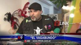 """Resistencia: """"El Vagabundo� Estuvo con Edu Sanova, el diseñador de """"Flor De La V�"""