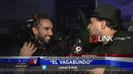 """Resistencia """"El Vagabundo� entrevistó al modelo más polémico y mediático, Gabo Usandivaras"""