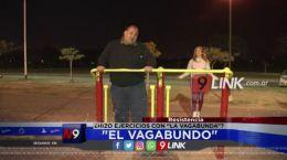 """Resistencia: """"El Vagabundo� hizo ejercicios con """"La Vagabunda�?"""