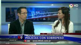 MÁS DEL 40% DE LOS AGENTES TIENE SOBREPESO   CORRIENTES   11.09