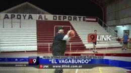 """Resistencia """"El Vagabundo� prueba entrenar básquet con el equipo del Club """"Don Bosco�"""