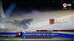CHACO |  VIOLENTO ROBO EN DU GRATY | 19.09