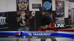"""Resistencia: """"El Vagabundo� practica boxeo y adelanta un evento de artes mixtas"""