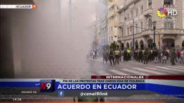 FIN DE LAS PROTESTAS TRAS VARIOS DÍAS DE VIOLENCIA | INTERNACIONAL | 14.10
