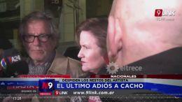 DESPIDEN LOS RESTOS DEL ARTISTA | NACIONAL | 16.10