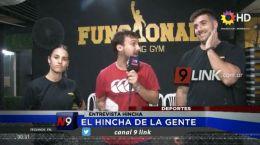 DEPORTES | EL HINCHA DE LA GENTE | ENTREVISTA HINCHA-
