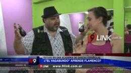 Resistencia: El Vagabundo aprendió a tocar las Castañuelas