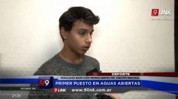 RESISTENCIA  - PRIMER PUESTO EN AGUAS ABIERTAS