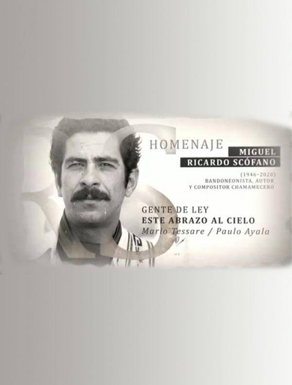 Homenaje a Ricardo Scófano