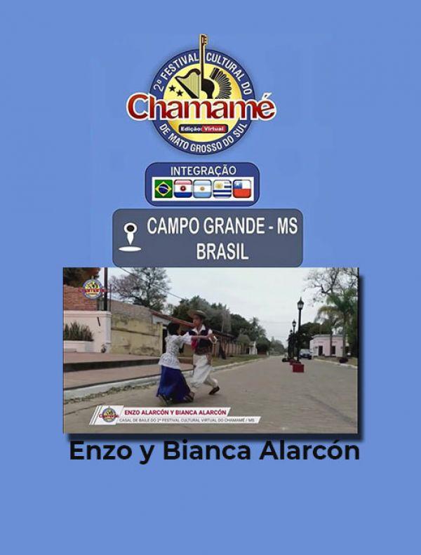 Enzo y Bianca Alarcón