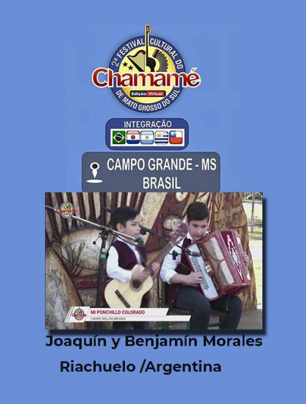Joaquín y Benjamín Morales